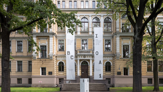 The Former Faculty of Biology of the University of Latvia