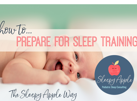 How to prepare for sleep training