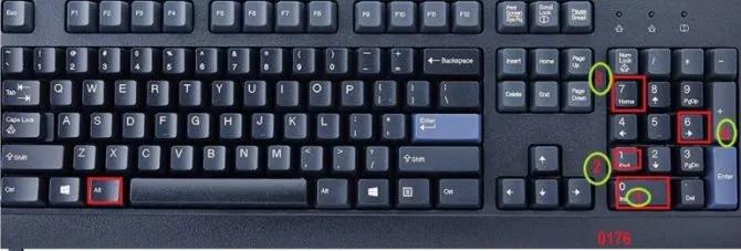 Keyboard Keys Combination
