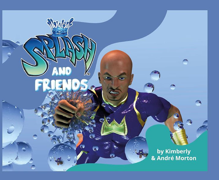 Splash and Friends Books, Hard Cover , Paperback  & Splash Box