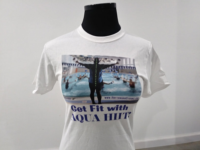 Vintage RNS Tee- Our 2nd tshirt design - Get fit with AQUA HIIT