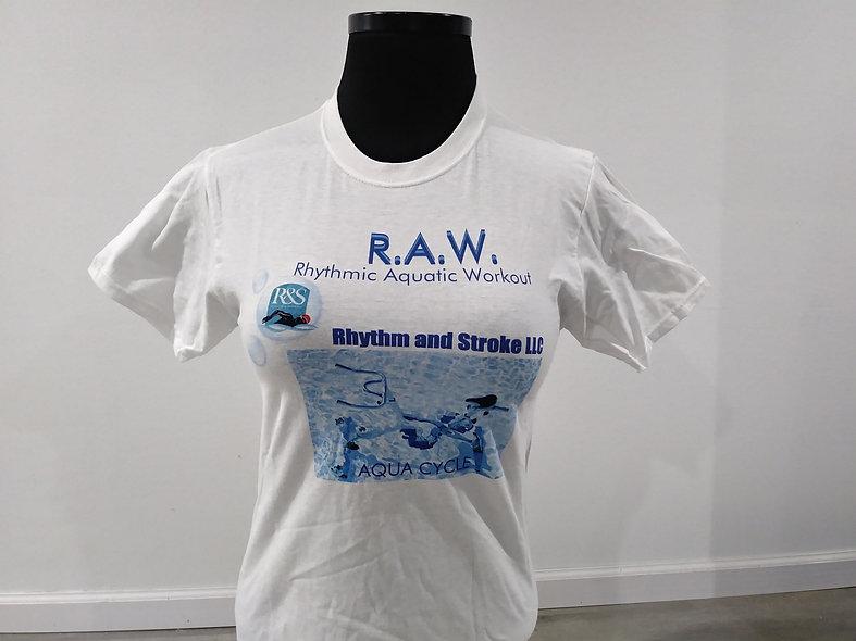 RAW Tee- Rhythmic Aquatic Workout