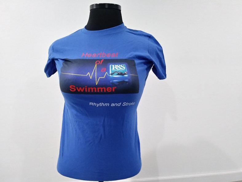 Heartbeat of swimmer Tee