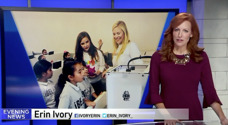 WGN9 Chicago: MakerGirl Video