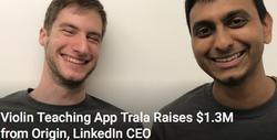 Trala Raises $1.3M