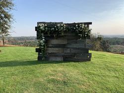 Wood Wall $60