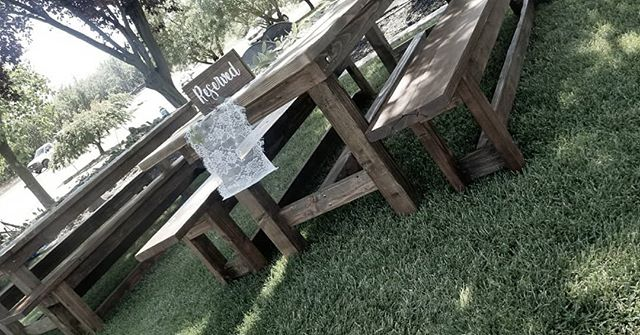 Farmhouse Table $55 & Farmhouse Bench = $25