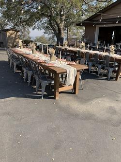 8Foot Farmhouse Tables $55