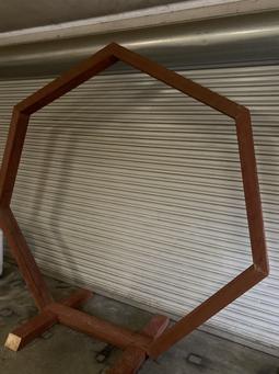 Custom Hexagon Arch