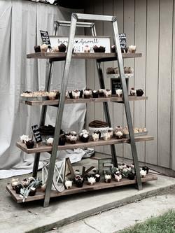 Industrial Ladder Display = $55