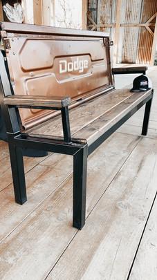 Custom Tailgate Bench