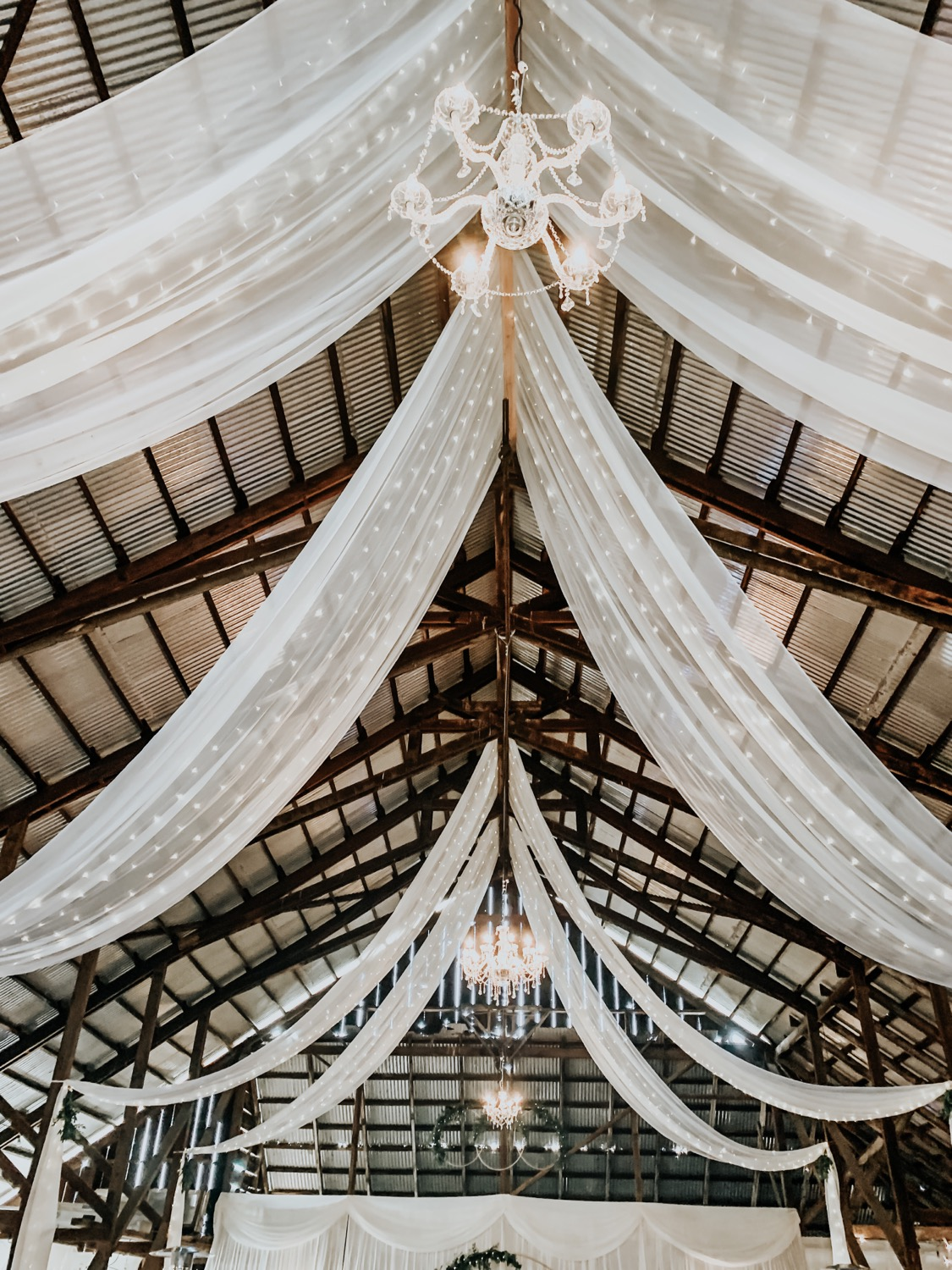 Barn Draping - Inquire Within