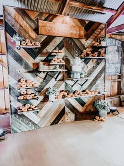 Dessert Wall