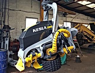 Kesla, Harvesting heads, harvesters, forestry harvesters, Kesla harvester conversion, harvadig, tracked harvester, forestry conversion, forestry crane, timber harvester, excavator conversion, digger conversion, harvester conversion