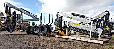 Kesla, Kesla timber trailers, Kesla forestry cranes, Kesla truck loaders, Kesla 122H trailer, forestry tractors, Kesla 304 loader, Kesla 316, Kesla 204T,