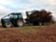 Kesla, driving timber trailer, timber trailer, full forestry guarding, caledonian forestry, Kesla, forestry tractor, simple forestry guarding, jake frame, forestry crane, timber grab, roof mounted loader, timber loader,