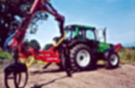 forestry tractor, delimber, timber loader, forestry crane, timber crane, forestry guarding,