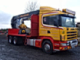 independant loader, independant timber loader, timber loader,  forwarder, coille haulage, kesla, caledonian forestry, forestry conversion, Kesla 2024 loader, forestry crane, timber trailer, timber truck