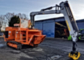 Forestry conversions, forestry machine crane, forestry loader, Kesla