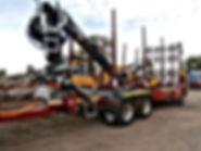 Kesla, Kesla truck crane, timber trucks, timber trailers, truck loader, Caledonian forestry conversions, forestry trailer, forest truck crane