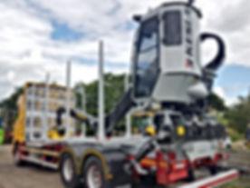 Kesla loader, Kesla cab, Kesla trailer