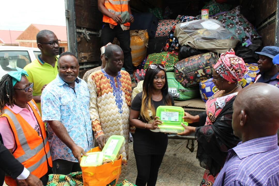 Nikki at Help Benue Flood Victims