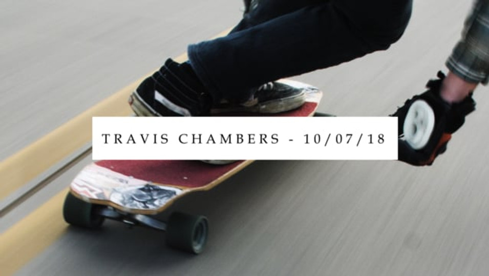 a day of downhill // travis chambers