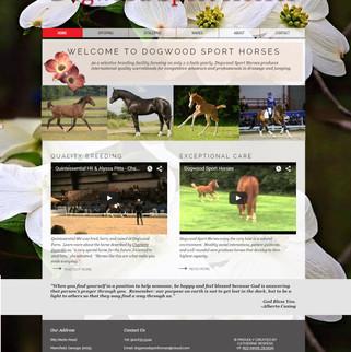 Dogwood Sport Horses Website