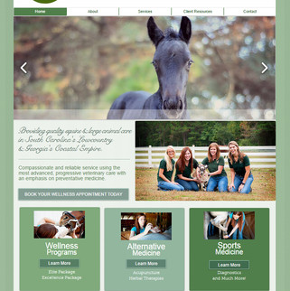 Low Country Large Animal Website
