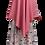 Thumbnail: Jasmine Two Piece Hijab Set Baby Pink