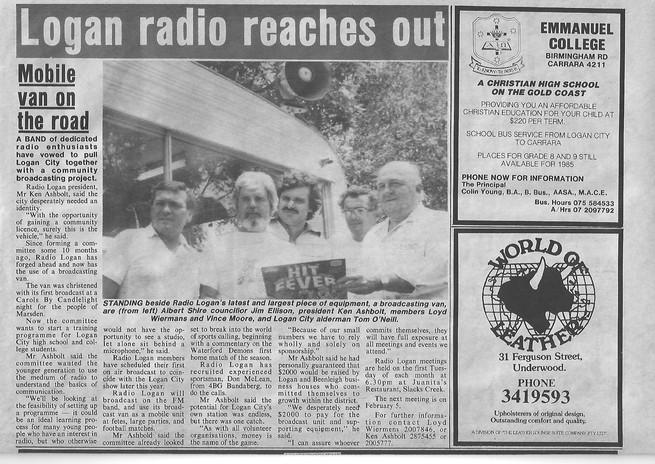 1985-01-25 Albert & Logan News