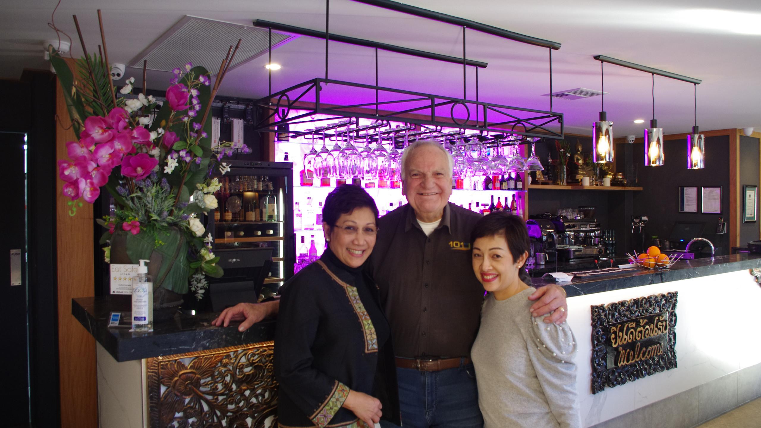 Tina, Alan & Mandy