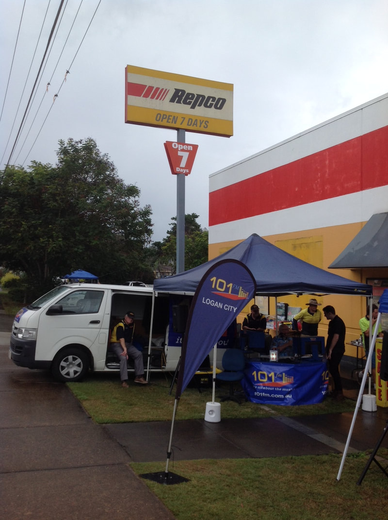 Outside Broadcast at Repco Browns Plains