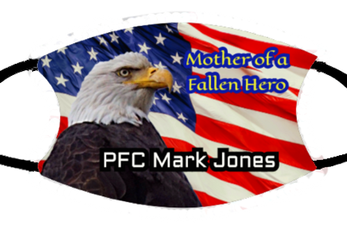 Fallen Hero with Eagle - Elastic loops