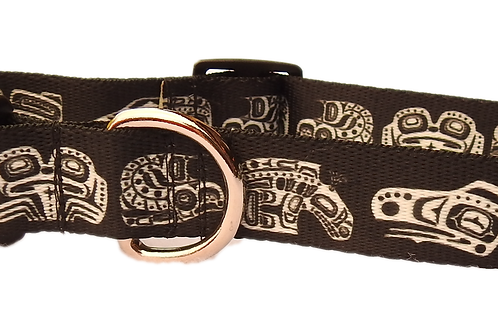 "Native Symbols 1"" Dog Collar"