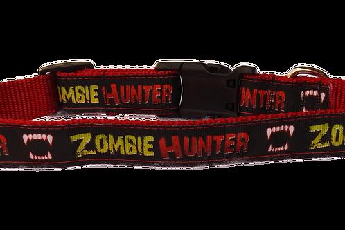 "Zombie Hunter 1"" Dog Collar"