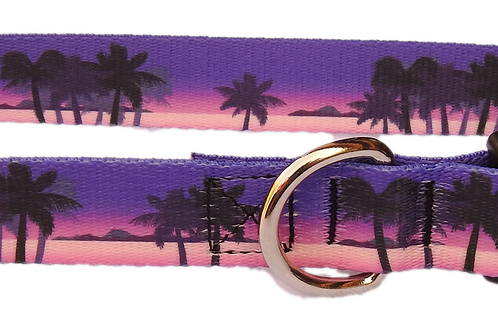 "Purple Paradise 1"" Dog Collar"