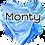 Thumbnail: Blue Swirl Pet Tag