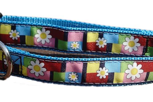 """Groovin to the 60s 1"""" Dog Collar"""