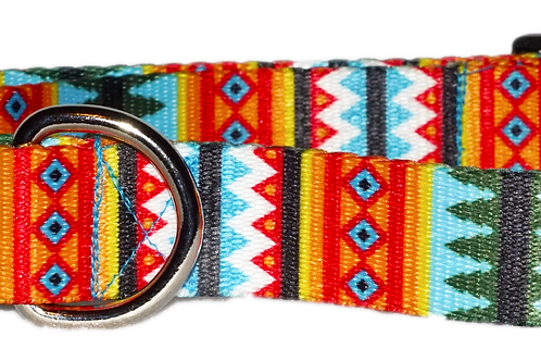 "Pine Trees 5/8"" Dog Collar"
