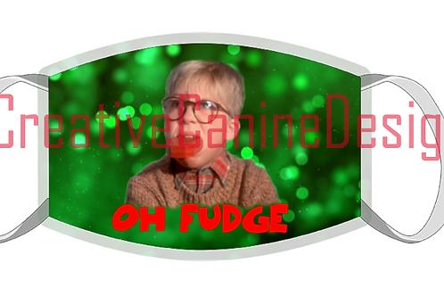 Oh Fudge! Christmas Mask