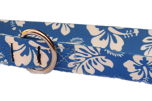 "Blue Hawaii 1"" Dog Collar"