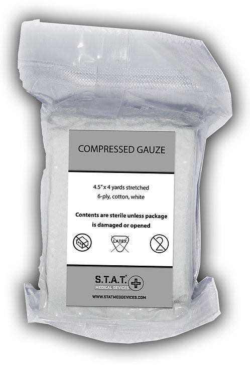 Compressed Gauze