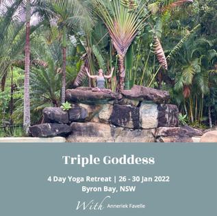 Triple Goddess 3 Day Yoga Retreat