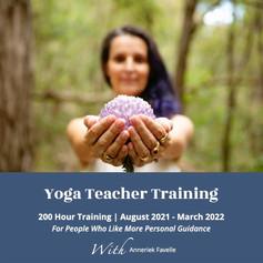 Level 1 yoga teacher training