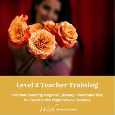 Level 2 yoga teacher training program