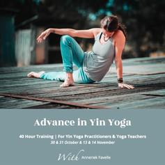 Yin Yoga training program