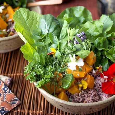 Vegan Food Photo at a Yoga 4 You Yoga Retreat