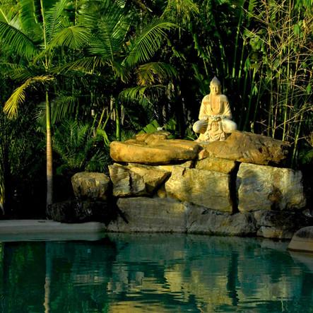poolside image at a Yoga 4 You Yoga Retreat