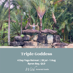 Triple Goddess retreat